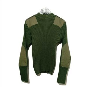 DCSP Valor Collection Army Padded Sweater SZ 38
